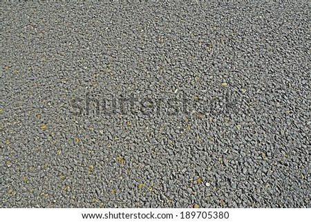 background made with grey asphalt - stock photo