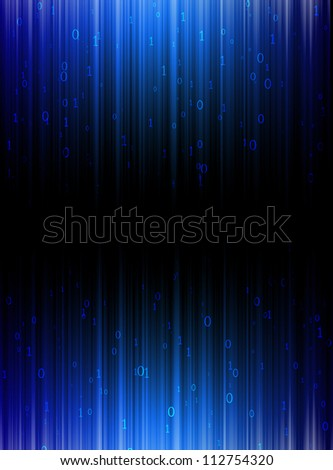 Background matrix light matrix. - stock photo