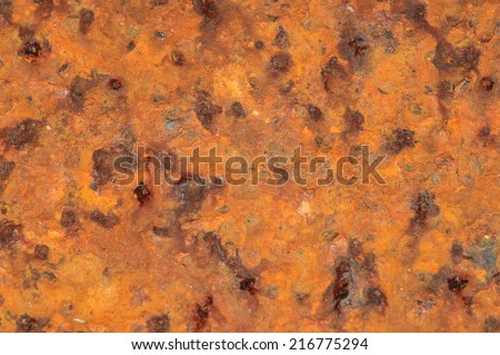 Background metal rust structure - stock photo