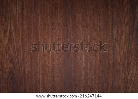 background  nature detail of teak wood texture decorative furniture , Xylia xylocarpa Taub - stock photo