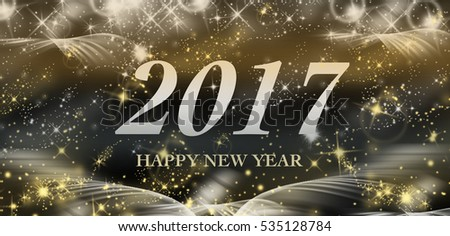 background new year