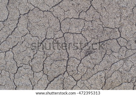 background of a cracked surface