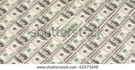 background of American money. high resolution. concept. studio. - stock photo