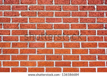 Background of an old brick wall - stock photo