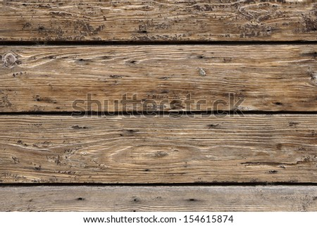 Background of an old wooden panel - stock photo