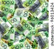 Background of Australian one hundred dollar bills. - stock photo