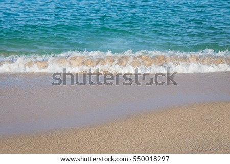 background of beach