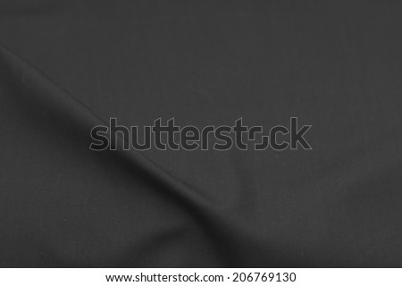 background of black cloth. texture - stock photo