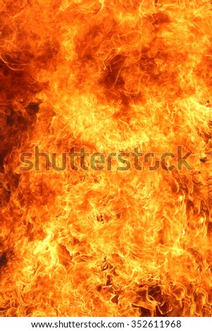 background of blaze fire flame - stock photo