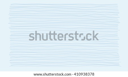 Background of blue horizontal lines. Blue light lines freehand drawing. Graphic design. Minimalistic graphics. Background blue.