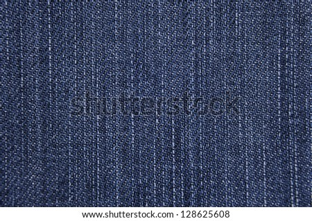 Background of Blue jean - stock photo