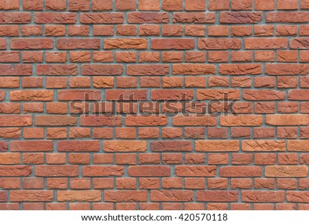 Background of brick wall texture pattern for design. - stock photo