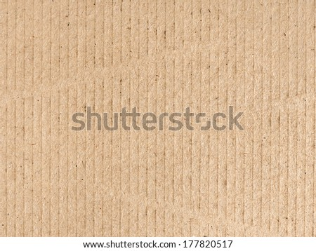 background of brown cardboard texture