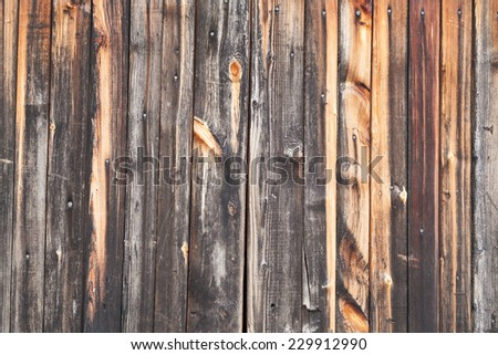 Background of burnt wooden boards - stock photo