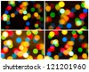 background of Christmas light pack - stock photo