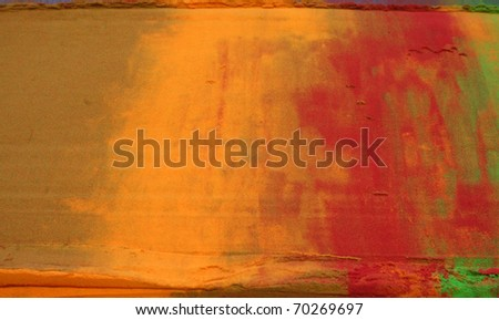 background of colored powder - stock photo