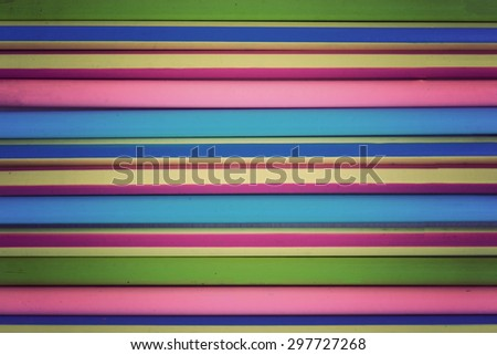 Background of colored wood pencils, Vintage Style - stock photo
