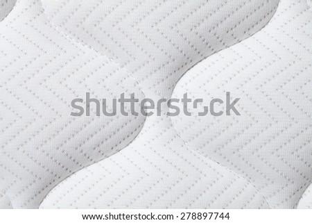 background of comfortable mattress closeup