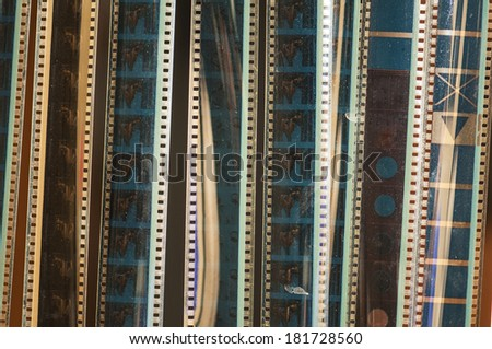 Background of film. - stock photo