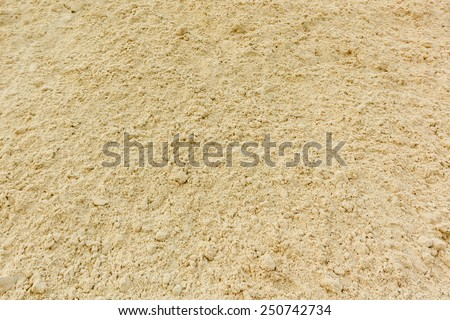 Background of fine river sand. Sand texture. - stock photo