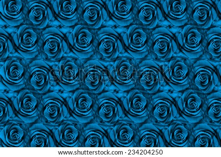 Background of flowers filters style - stock photo