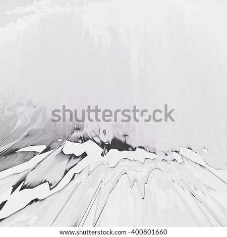 Background of glitch manipulations.  Abstract greyscale shapes. It can be used for web design and visualization of music - stock photo