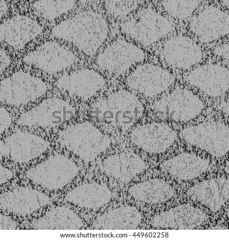background of gray artificial snake skin - stock photo