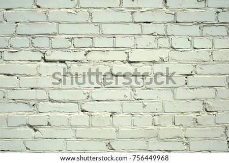Background Of Gray Brick Wall Old Made From Grey Bricks