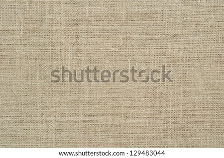 Background of gray linen fabric with a plain weave - stock photo