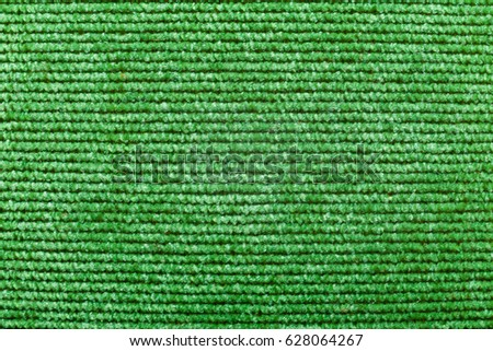 Background of green textile texture. Macro