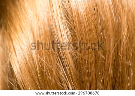 background of hair
