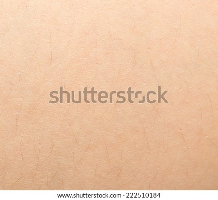 background of human skin - stock photo