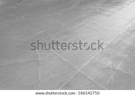 background of ice surface at Medeo - stock photo