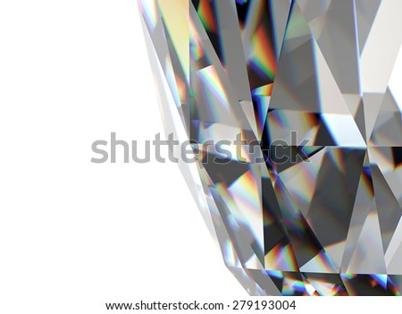 Background of jewelry gemstone.Diamond - stock photo