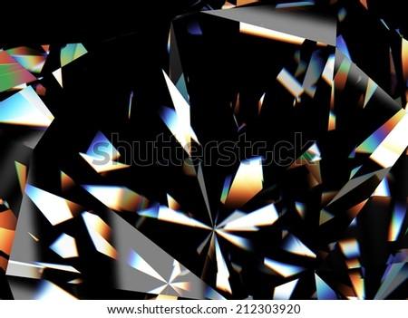 Background of jewelry gemstone. Facet - stock photo