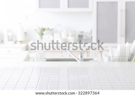 Background of kitchen