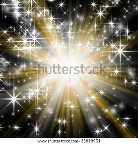 background of light - stock photo