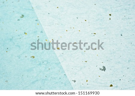 background of light blue japanese paper - stock photo