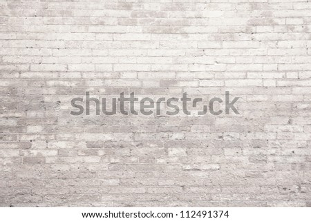 Background of light brick wall texture. - stock photo