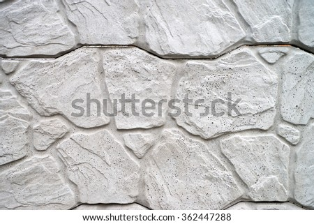 Background of many Stones / Stones Background - stock photo