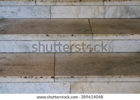 background of marble steps - stock photo