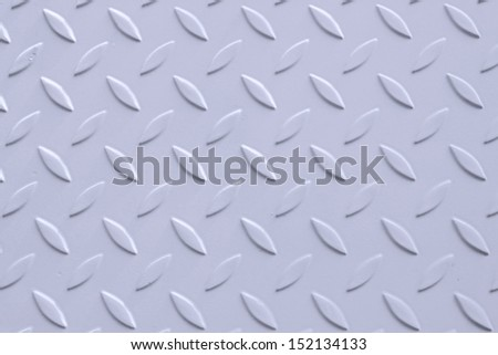 Background of metal diamond plate in grey color