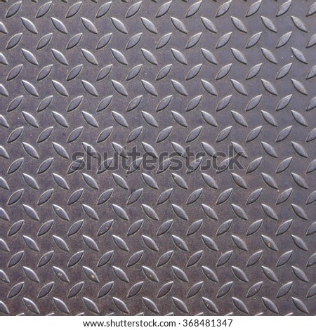 Background of metal plate