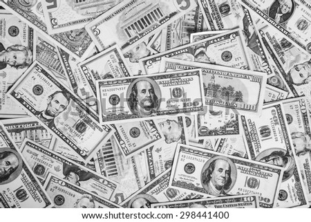 Background of money for business,dollar, Money - stock photo