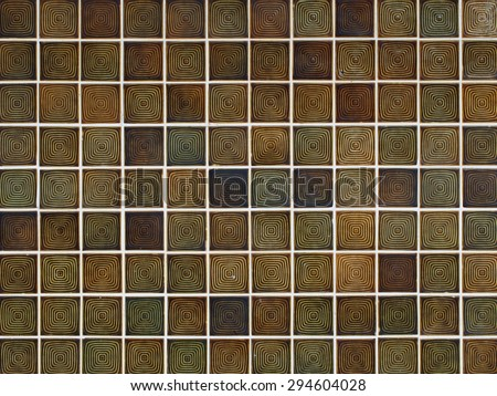 Background of mosaic wall texture