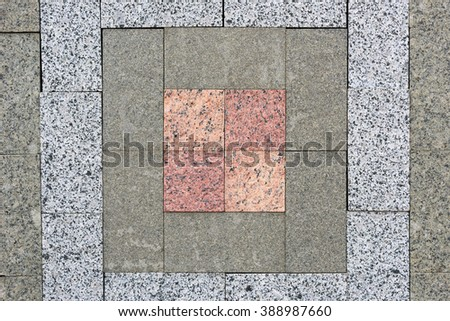 Background of natural building stone treated