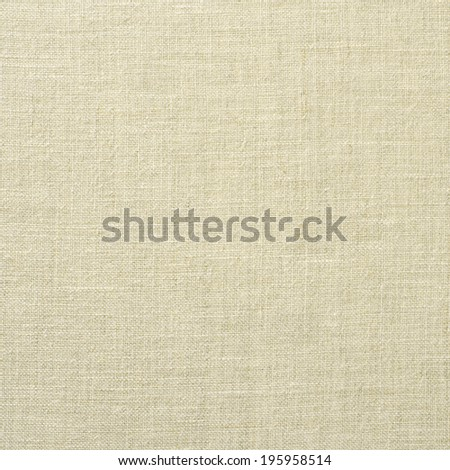 Background of natural linen fabric   - stock photo