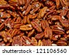 Background of nuts - stock photo