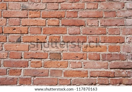 Background of old brick wall  texture