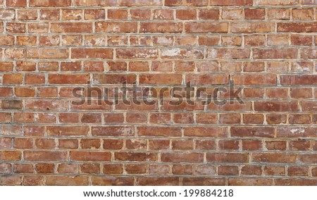 Background of old vintage dirty brick wall, texture